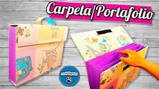 diy carpeta portafolio reciclando cart 243 n pumitanegraart