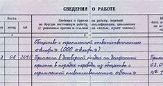 запись в трудовой книжки при переводе на совместительство