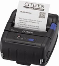 cmp 20 30 line thermal mobile printers citizen systems