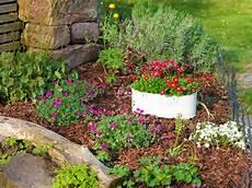 Garten Blumenbeet Anlegen