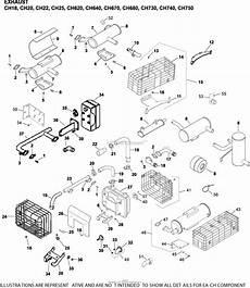 23 hp kohler wiring diagram kohler ch23 76609 exmark 23 hp 17 2 kw 2005 parts diagram for exhaust 11 24 110 ch18 750