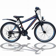 26 zoll fahrrad mtb mit beleuchtung und shimano real