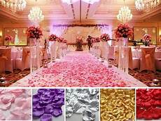 wholesale wedding party decorations various colors fabric flower rose petals ebay