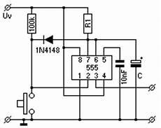 elektrik und elektronik zeitschaltungen monoflop