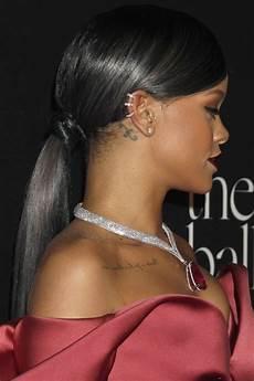 Black Hair Ponytail Hairstyles