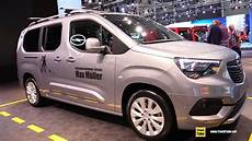 2019 opel combo xl edition exterior and interior