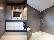 salle de bain beton 68851 r 233 novation salle de bain atelier design beton cire nantes