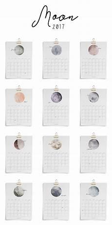 printable kalender 187 moon 2017 freebies kostenlos