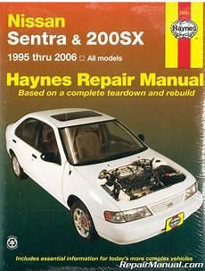 what is the best auto repair manual 1995 lexus gs spare parts catalogs haynes nissan sentra 200 sx 1995 2006 auto repair manual