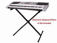 Black Adjustable Metal Keyboard Piano Electronic