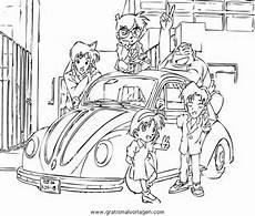 detective conan 18 gratis malvorlage in comic