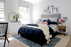 Bedroom Ideas Navy by Interiors Addict S Bedroom Makeover Front