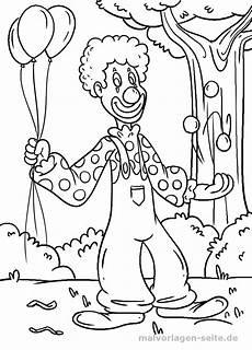 Malvorlagen Clown Malvorlage Clown Personen Ausmalbilder Kostenlos