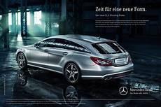 Werbung F 252 R Den Cls Shooting Brake Startet Mercedes