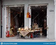 instrument store new orleans instrument store at the quarter editorial stock image image of front instrument