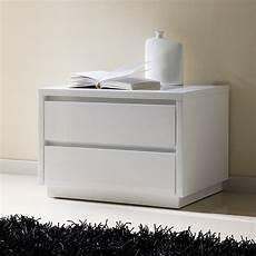 chevet design blanc table de chevet design laquee blanche tobia zd1 chv a d