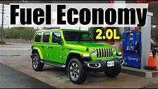 2019 jeep mpg 2019 jeep wrangler 2 0l fuel economy mpg review fill up
