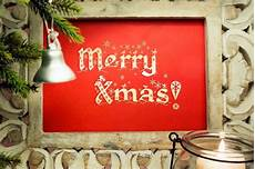 poster with the message quot merry christmas quot free photo