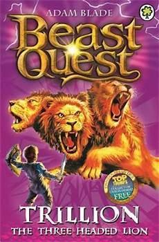 Beast Quest Malvorlagen Indonesia Trillion The Three Headed Adam Blade 9781846169939