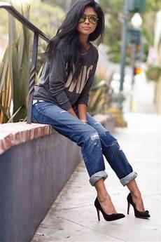 mode ée 80 femme photo le jean boyfriend femme 70 id 233 es comment le porter