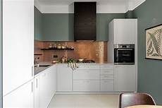 Contemporary Kitchen Backsplash 20 Copper Backsplash Ideas That Add Glitter And Glam To