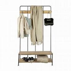 garderobe aus metall holz bei milanari