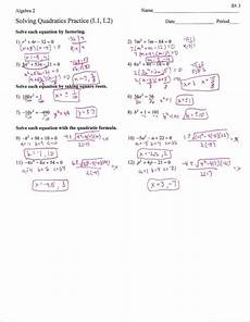 worksheet factoring trinomials answers key db excel com