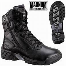 morin chaussure magnum stealth zip cuir wp
