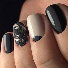 image result for cute emo nail art black nail designs