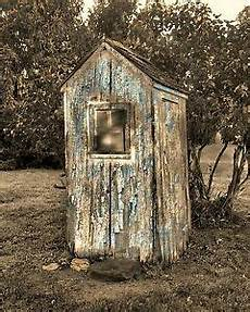 outhouse bathroom ideas rustic outhouse wall vintage bathroom decor matted picture ebay