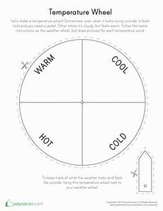 weather temperature worksheets 14691 temperature wheel with images preschool weather weather worksheets weather crafts