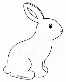 Ausmalbilder Hase Gratis Printable Rabbit Coloring Pages For Coloring Page