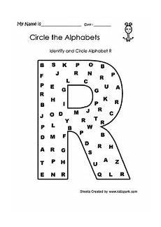 Identify Alphabets Worksheets Letter Worksheets For