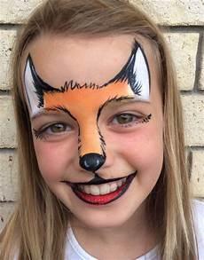 gesicht schminken igel fox mask facepainting kinderschminken