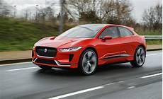 jaguar electric i pace concept suv struts its stuff on