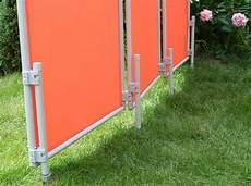 Servicebereiche Unterteilen Mit Sichtschutz Im Garten