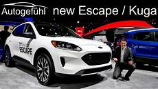 All New Ford Escape 2020 Ford Kuga Exterior Interior