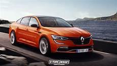 Renault Talisman Rs Rendering Doesn T Look Half Bad