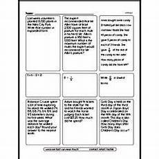 math word problem worksheets 5th grade 11215 fifth grade math word problems worksheets single step math word problems edhelper