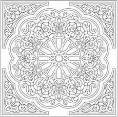 Arabische Muster Malvorlagen Name Zeichnung 231 Ini Desen Arabisches Muster Ausmalbilder