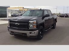 Black 2015 Chevrolet Silverado LT 1500 4WD CREW CAB Truck