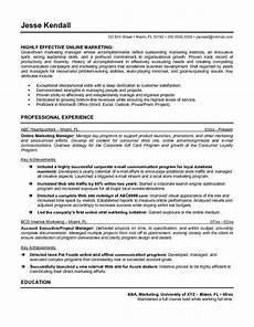 sle marketing manager resume exle make your business