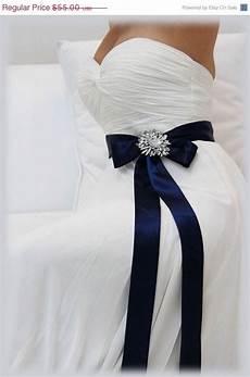 navy blue bridal sash crystal sash ribbon sash rhinestone belt wedding accessory bridal