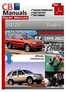 what is the best auto repair manual 1999 gmc suburban 1500 interior lighting isuzu rodeo 1999 2002 service repair manual ebooks automotive