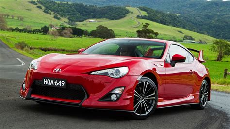 Red Toyota Sport Car Wallpaper