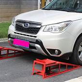 Auto Car Service Ramps Lifts Low Clearance Cars