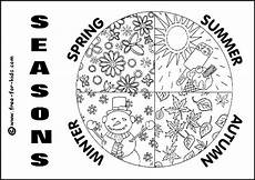 through the seasons colouring pages www free for