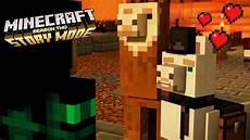 the angry llama minecraft story llama llove minecraft storymode season 2 ep 14