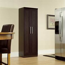 sauder homeplus four shelf storage cabinet pantry cabinets at hayneedle
