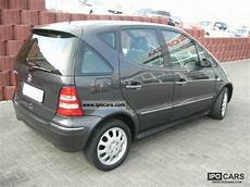2001 mercedes a 140 elegance car photo and specs